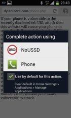 NoUSSD 1.0.1: Prevent Remote Wipe Internationally