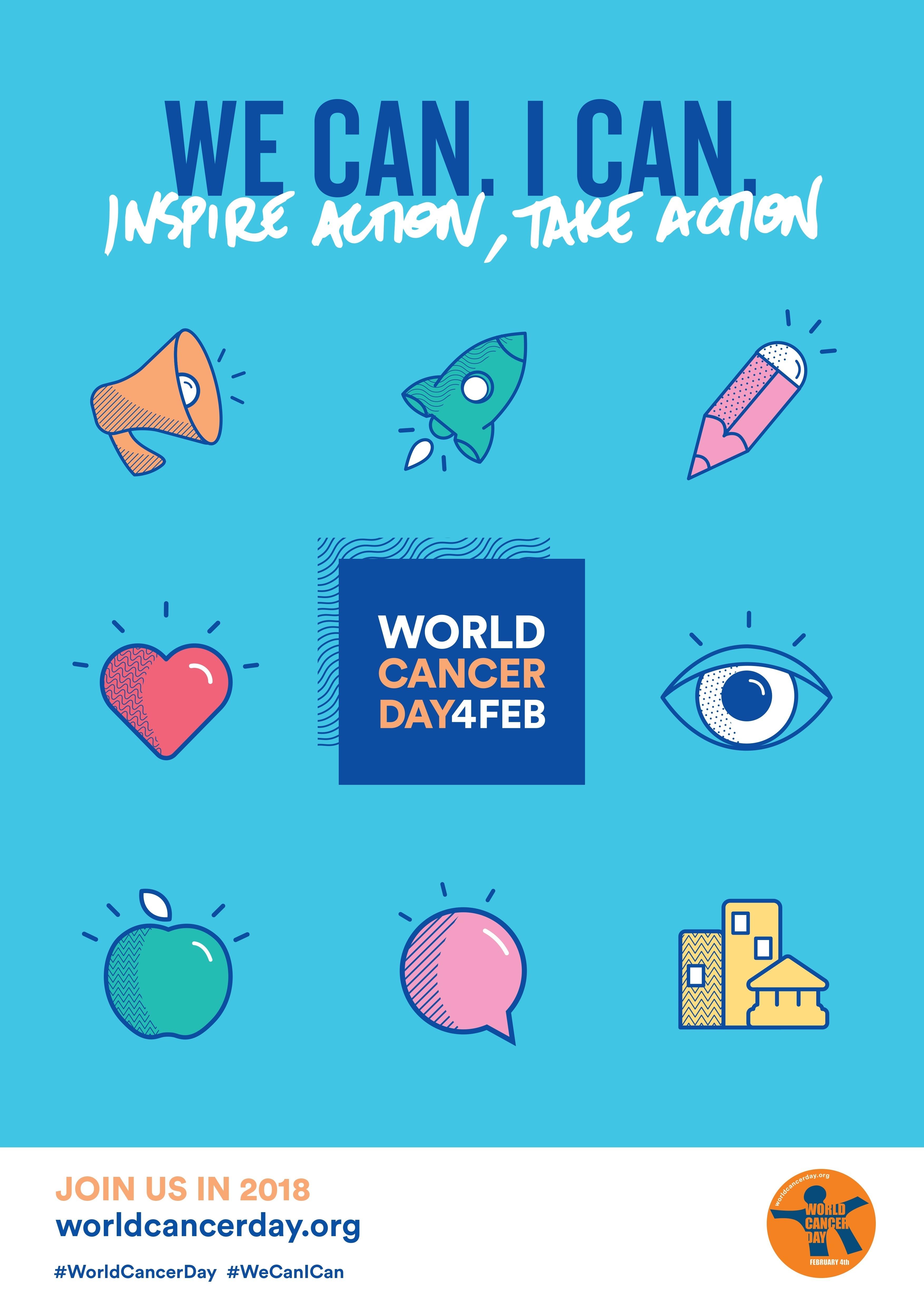 World Cancer Day #WorldCancerDay #WeCanICan