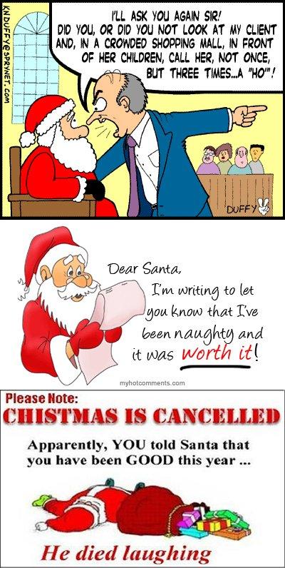 Naughty... Santa...